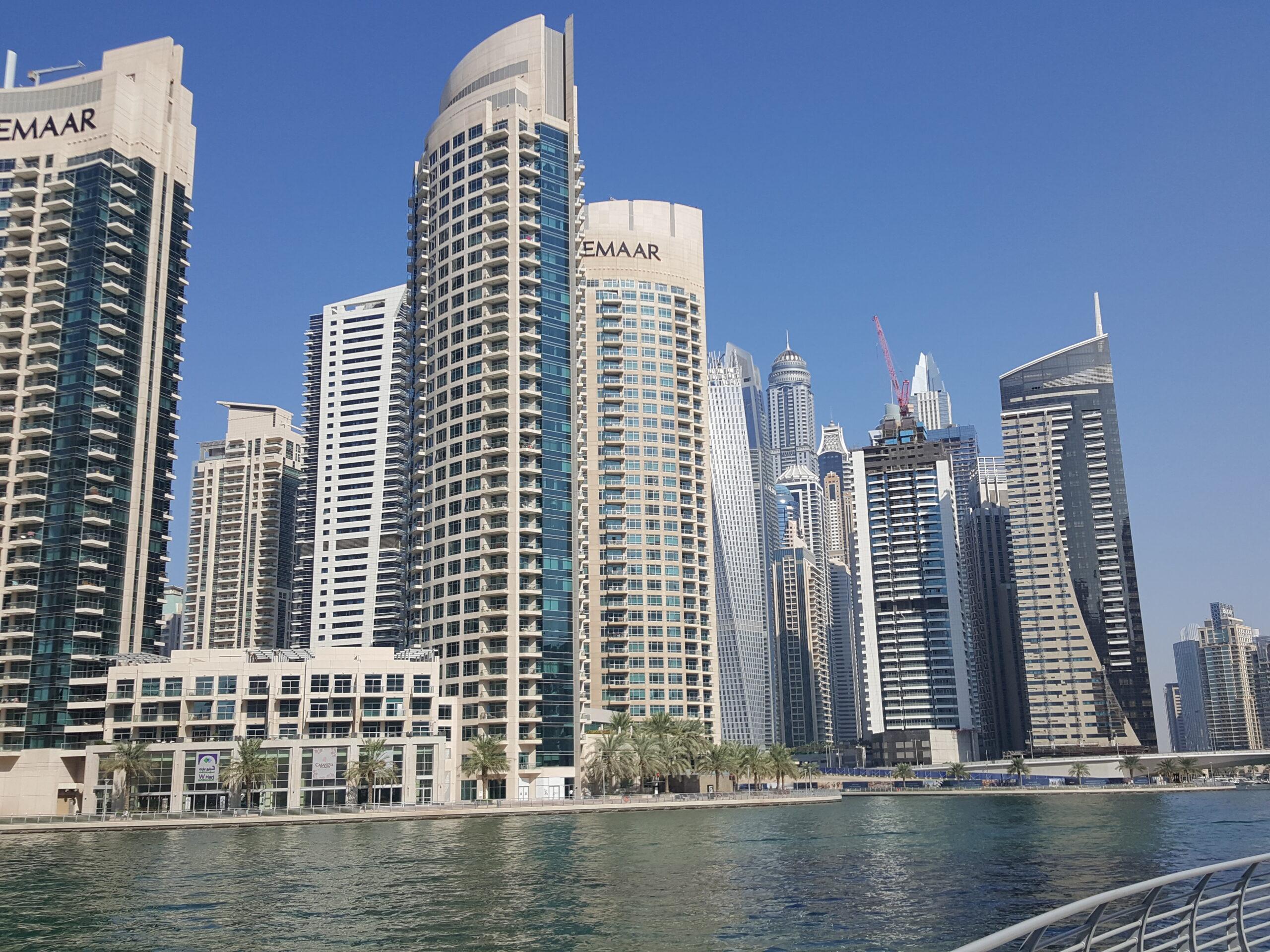 Dubai Marina - hier ist EMAAR stark vertreten