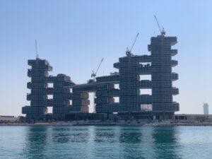 Großbaustellen sind für Bauzulieferer eine sichere Einnahmequelle um auch Dividenden zu zahlen